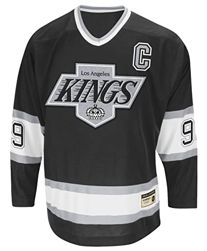 new style 85d09 f1b56 adidas Wayne Gretzky Los Angeles Kings CCM Heroes of Hockey Authentic Black  Jersey