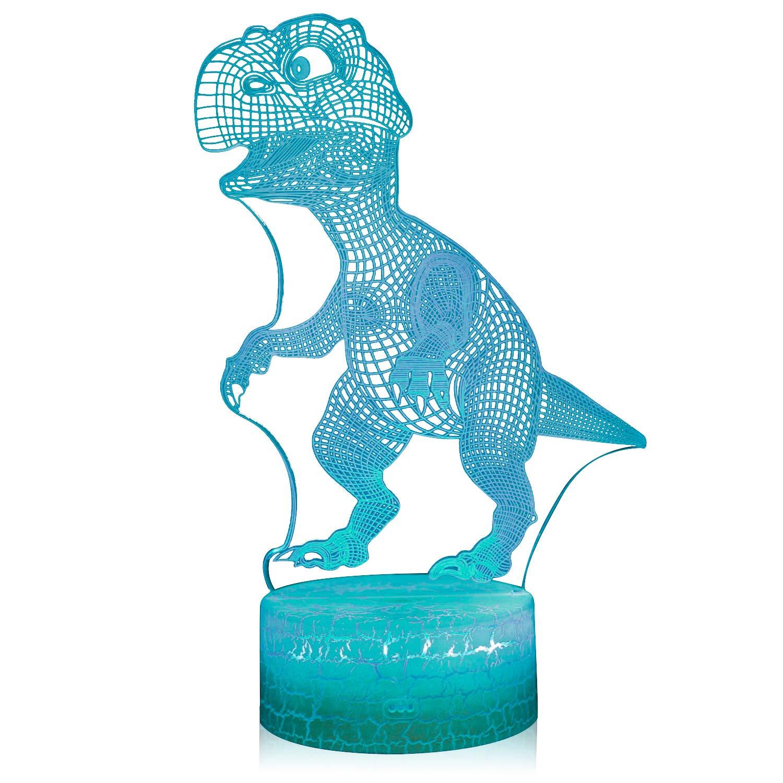 Amazon.com: AZALCO 3D ilusión lámpara de noche: Baby