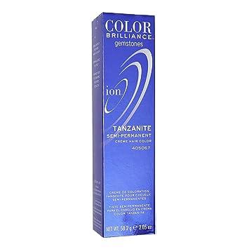 ion hair colors rose quartz ion tanzanite semi permanent hair color amazoncom beauty