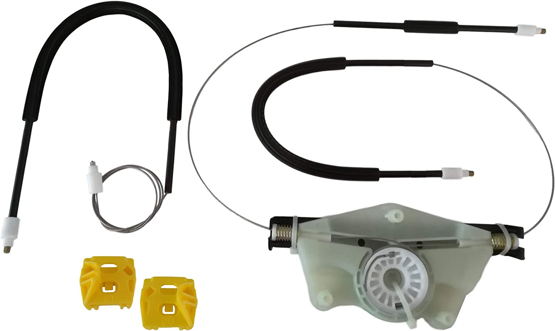 Lato Destro puleggia Clip Kit di Riparazione per regolatore finestrino Elettrico Anteriore Destro Cavi regolatori finestrini O//S UK Lato Guidatore LTS OFS