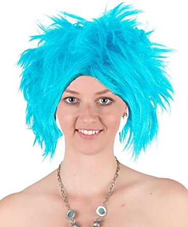 Rubies Funky Blue Punk Wig