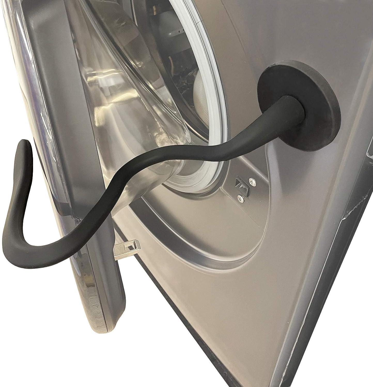 Front Load Washer Door Prop, Magnetic Washing Machine Door Holder, Keep Washer Door Open, Flexible Prop Fits Most Washing Machines