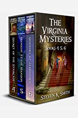 The Virginia Mysteries Box Set 2: Secret of the Staircase, Midnight at the Mansion, Shadows at Jamestown Kindle Edition