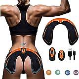 BCHE Hips Electrostimulateur Musculaire Hanches Trainer,Appareil de Fesse Intelligent,Electrostimulateur fessier,Télécommande Rechargeable pour Gym Workout Équipement pour Femmes Hommes