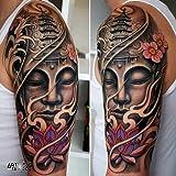 """Tatouage Temporaire """"Buddha Colour 1"""" - ArtWear Tattoo - B9995 M"""