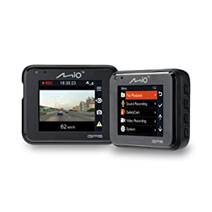 "Dash Car Camera DVR Mio, MiVue C330, 2"" screen, Full HD, G-Shock Sensor"