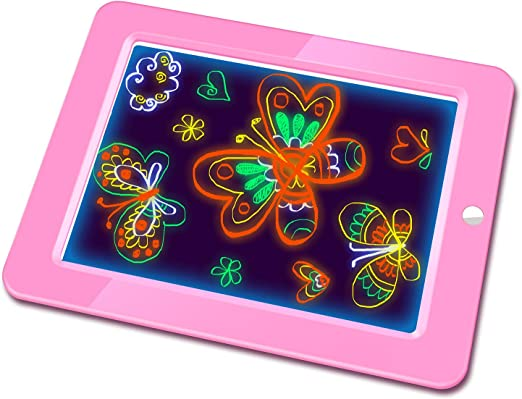 LORGDFDF Creative 10.5 Inch LCD Graffiti Board Childrens Writing Board Kids Drawing Board Intelligent Easy to Carry Color : Green, Size : 10.5 inches