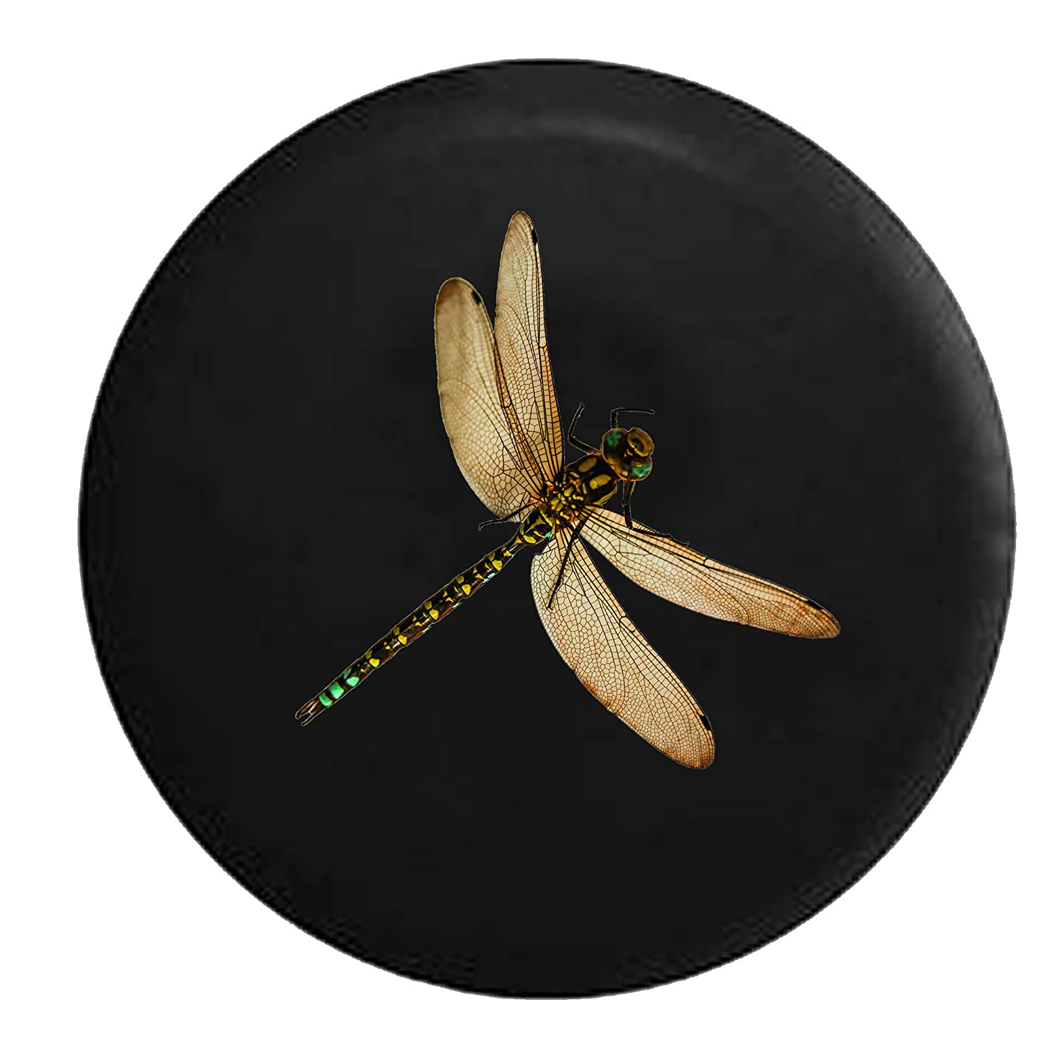 Realistic Dragonfly Spare Jeep Wrangler Camper SUV Tire Cover 30 in