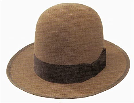 70cb29cc537df Amazon.com  Stetson Open Crown Stetsonian Hat (7 3 8)  Clothing