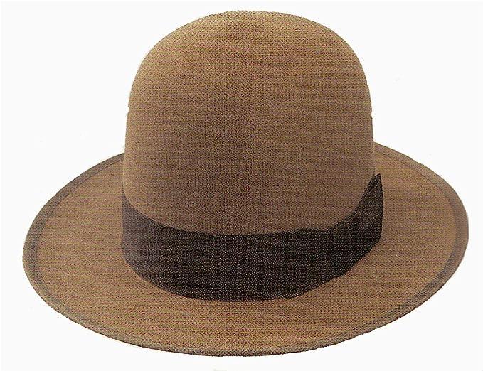 b9a1dbc60d9 Amazon.com  Stetson Open Crown Stetsonian Hat (7 3 8)  Clothing