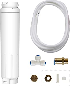 BP-625 bypass, Compatible with Bosch Ultra Clarity 644845, 9000077104, 9000194412, Haier 0060820860, 0060218744, Miele KWF1000