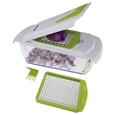 Freshware KT-402 2-in-1 Onion, Vegetable, Fruit, and Cheese Chopper