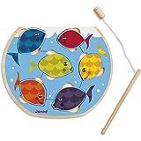 Janod J07008 - Puzzle Bois Speedy Fish 6 pcs