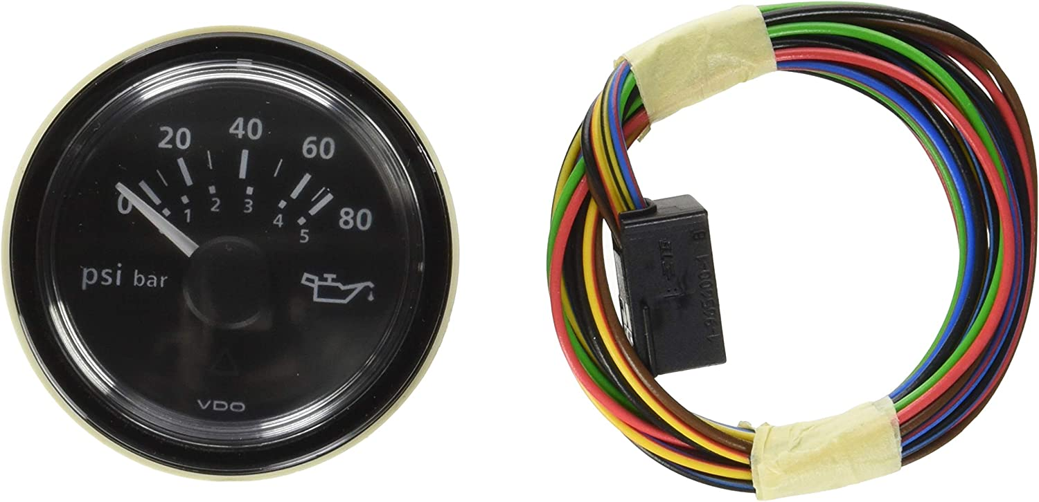 Vdo A2c53413151 S Oil Pressure Gauge Gauges Amazon Canada