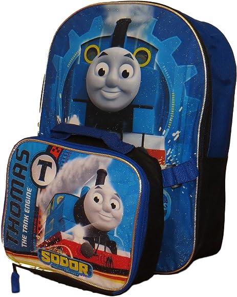 Thomas the Train Boys No 1 Thomas 12 Backpack W//Matching Lunch Bag