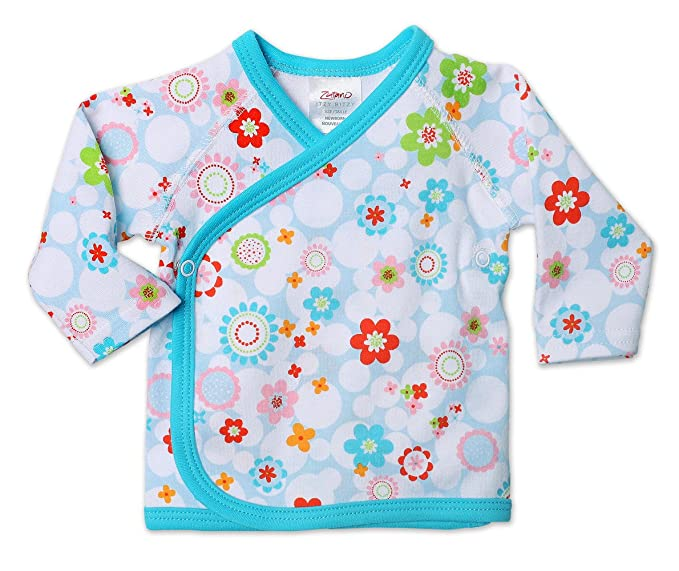 4a68dccad Amazon.com: Zutano Print Kimono Top, Ambrosia, Nb: Infant And ...