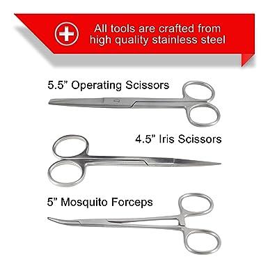 Amazon.com: Juego de 22 piezas de cuchillos de disección ...