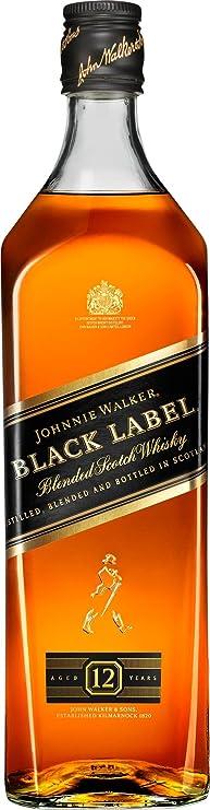 【販売量世界No.1 スコッチウイスキー】ジョニーウォーカー ブラックラベル 12年 [ ウイスキー イギリス 1000ml ]