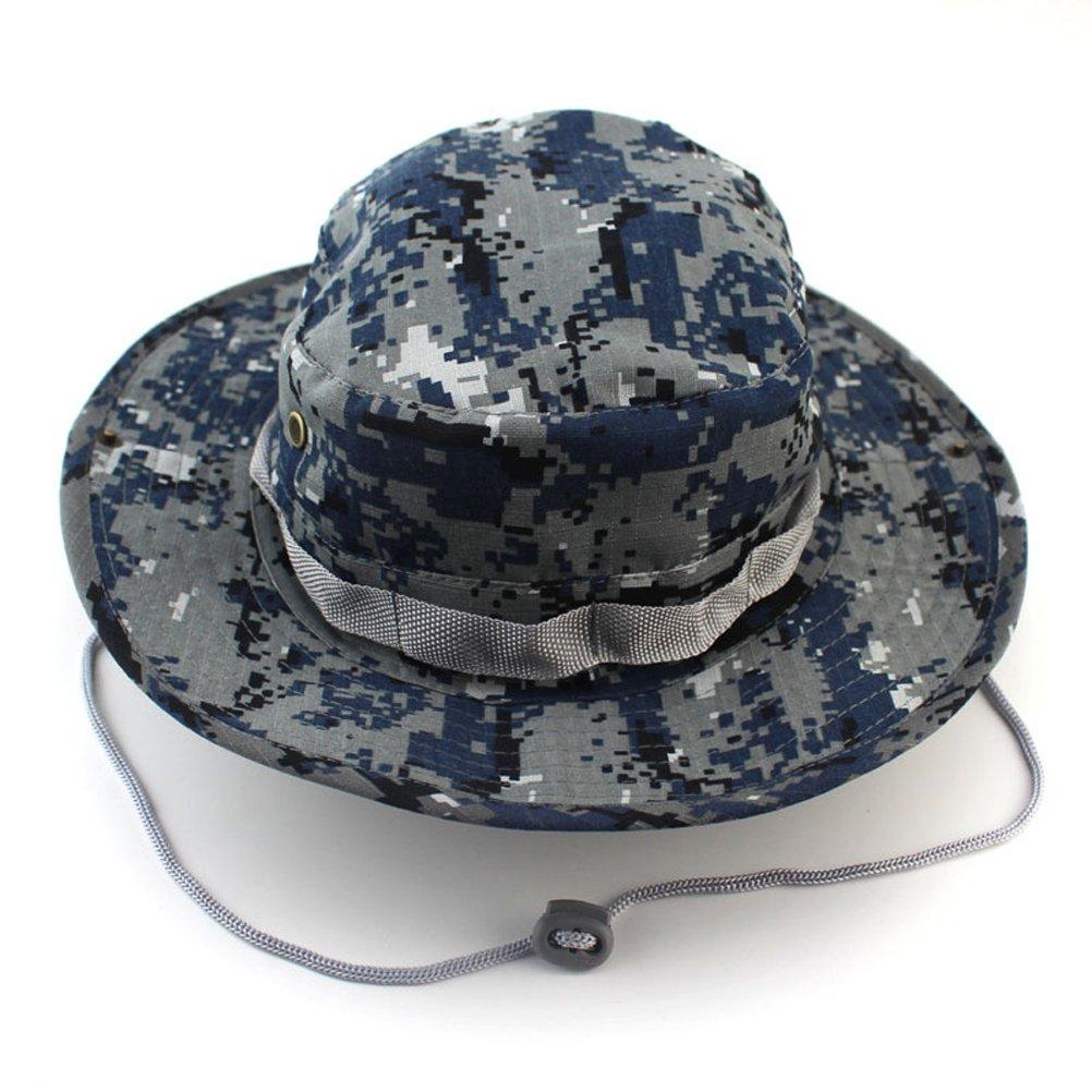 LEORX Sombrero de Alón sombrero gorro Boonie de pesca para deportes al aire libre adulto - tamaño libre