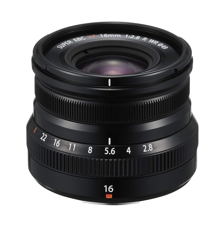 Fujifilm FUJINON XF 16 mm F2.8 R WR, Color Negro 16611667