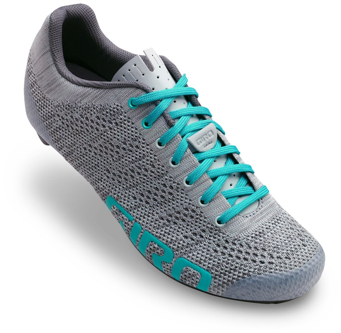 Giro Empire E70 Knit Cycling Shoes - Women's Grey/Glacier 39.5 by Giro