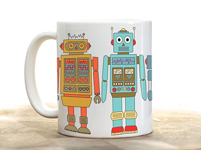 Geek Christmas Gifts.Robot Mug Robot Cup Nerd Mug Geek Mug Robot Gifts Christmas Gifts For Him Christmas Gifts For Dad Computer Geek Gifts Geek Christmas Stocking