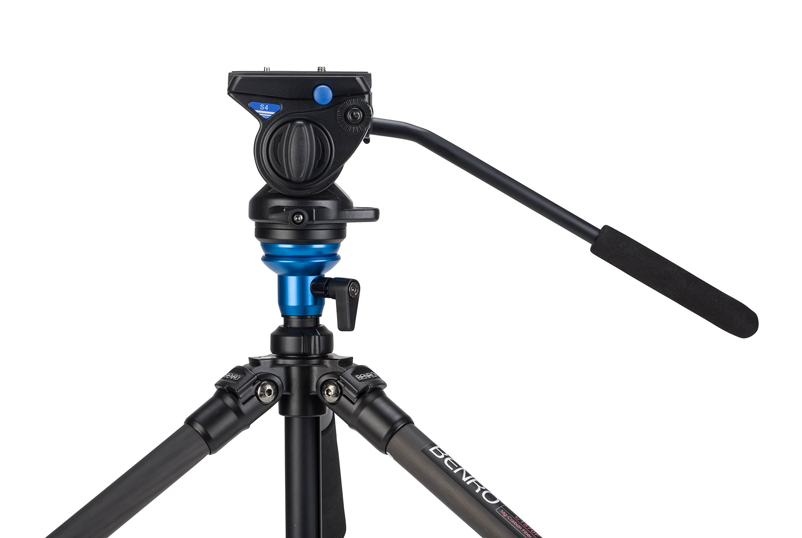 Benro S4 Video Head (Black) by Benro (Image #3)