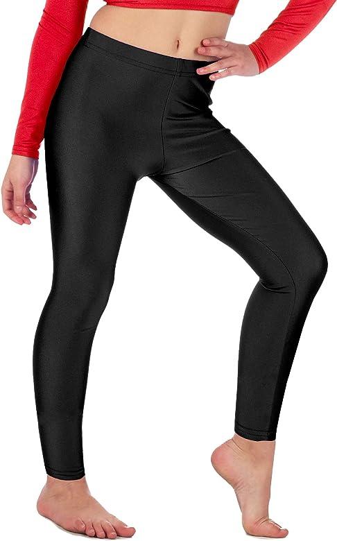 Legging Filles Danse Stretch Party Shiny Disco Fashion 4 To 14 ans 7 couleurs