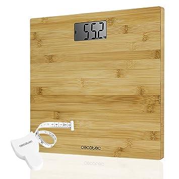 Cecotec Báscula de baño digital,Surface Precision 9300 Healthy alta precisión.Con plataforma de