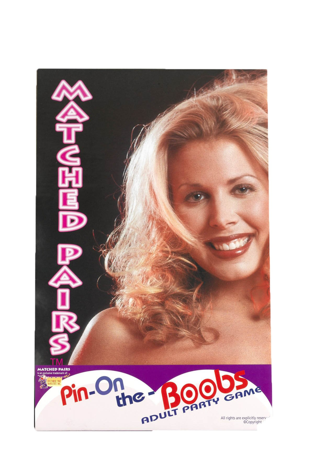 Forum Novelties Adult Novelty Matched Pairs Party Game