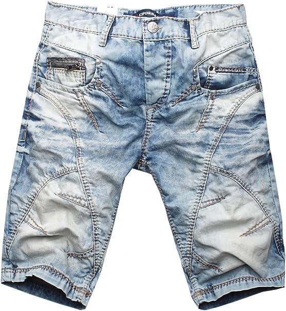Cipo /& Baxx Herren Jeans Shorts Bermuda kurze Hose C0090