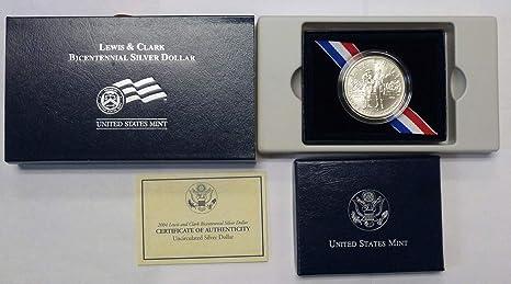 2004 Lewis /& Clark Bicentennial Proof Silver Dollar $1 Mint State US Mint