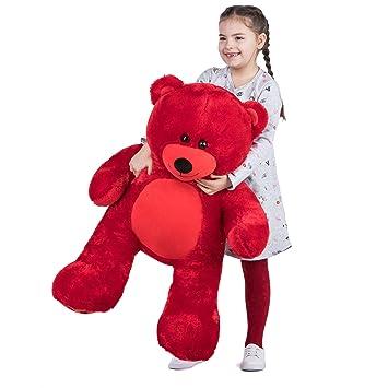 VERCART Teddybär XL 92cm Kuscheltier Stofftier Plüschbär Teddy Plüschtiere Kinder Alters Für Geburtstag Hochzeit Valentinstag