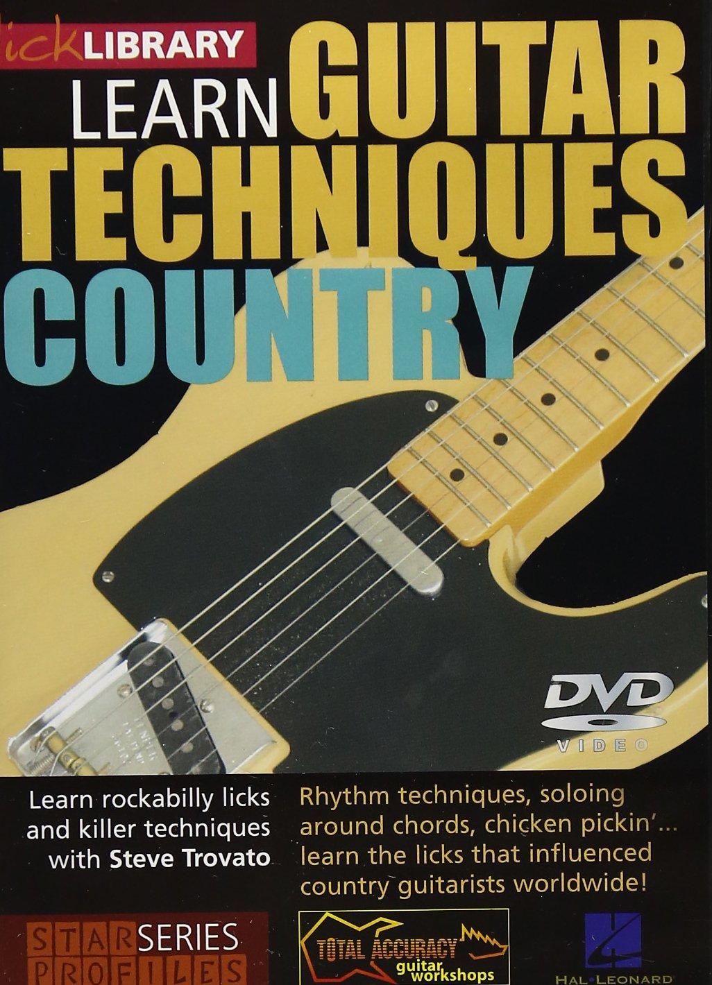 DVD : Steve Trovato - Learn Guitar Techniques: Country Albert Lee Style (DVD)