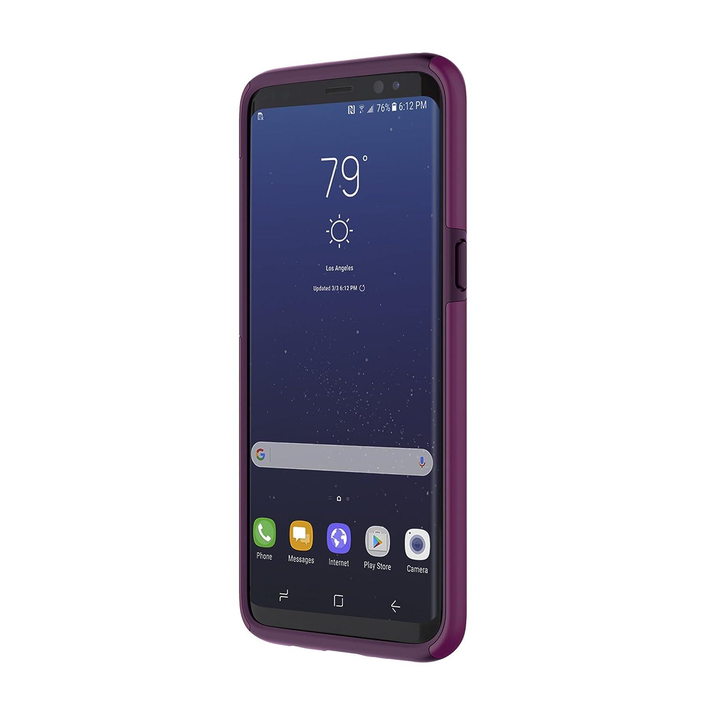 online retailer 3a3dd fb0ab Samsung Galaxy S8 Case, Incipio [Hard Shell] [Dual Layer] DualPro Case for  Samsung Galaxy S8-Plum
