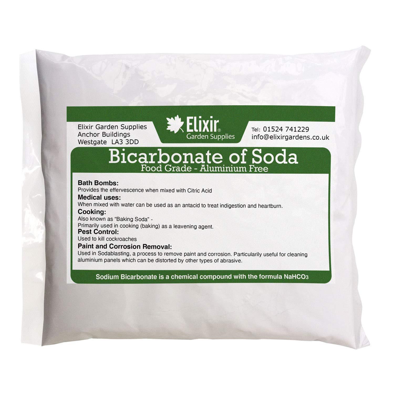 Elixir SODIUM BICARBONATE of Soda | 10KG BAG Medical Grade | Bath, Baking, Cleaning