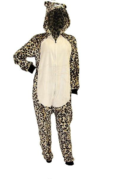 Tigre Pigiama Tuta Intera in 3D da Donna Ragazza Animali in Caldo Pile  Corallo  Amazon.it  Abbigliamento 99d38c888d6