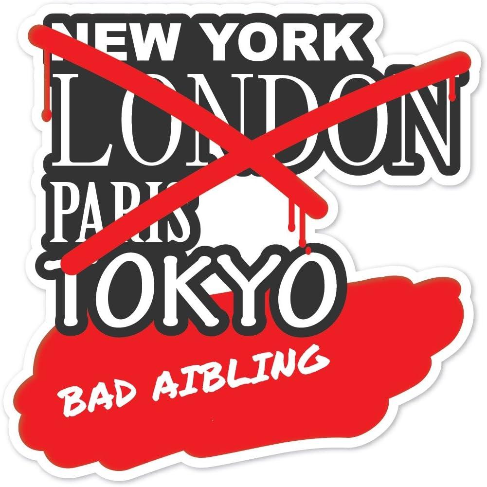 Farbe Graffiti Streetart New York Design Bad AIBLING JOllify Aufkleber