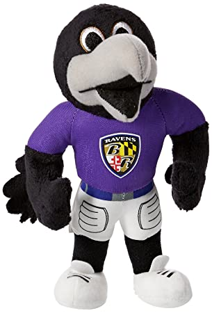 e5fef83b Forever Collectibles NFL Baltimore Ravens 8 Plush Mascot: Amazon.co ...