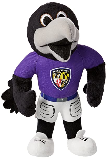 Forever Collectibles Nfl Baltimore Ravens 8 Plush Mascot Amazon Co