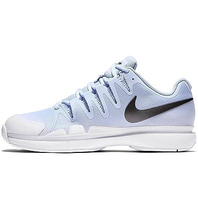 Nike Womens Zoom Vapor 9.5 Tour (Hydrogen Blue/White/Summit White/Metallic