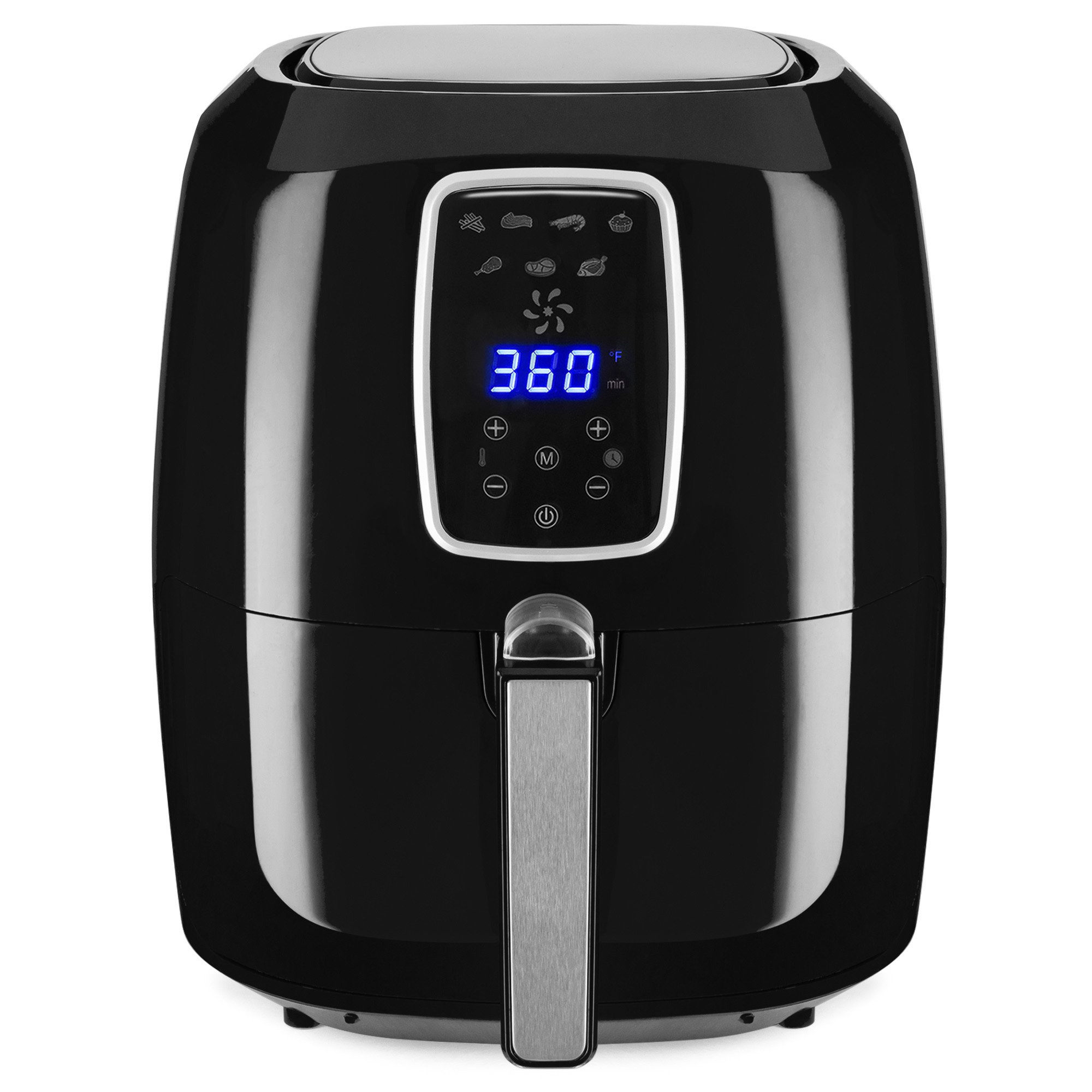 Best Choice Products 5.5qt Electric Digital Air Fryer w/LCD Screen, 7 Preset Settings, Non-Stick Coating