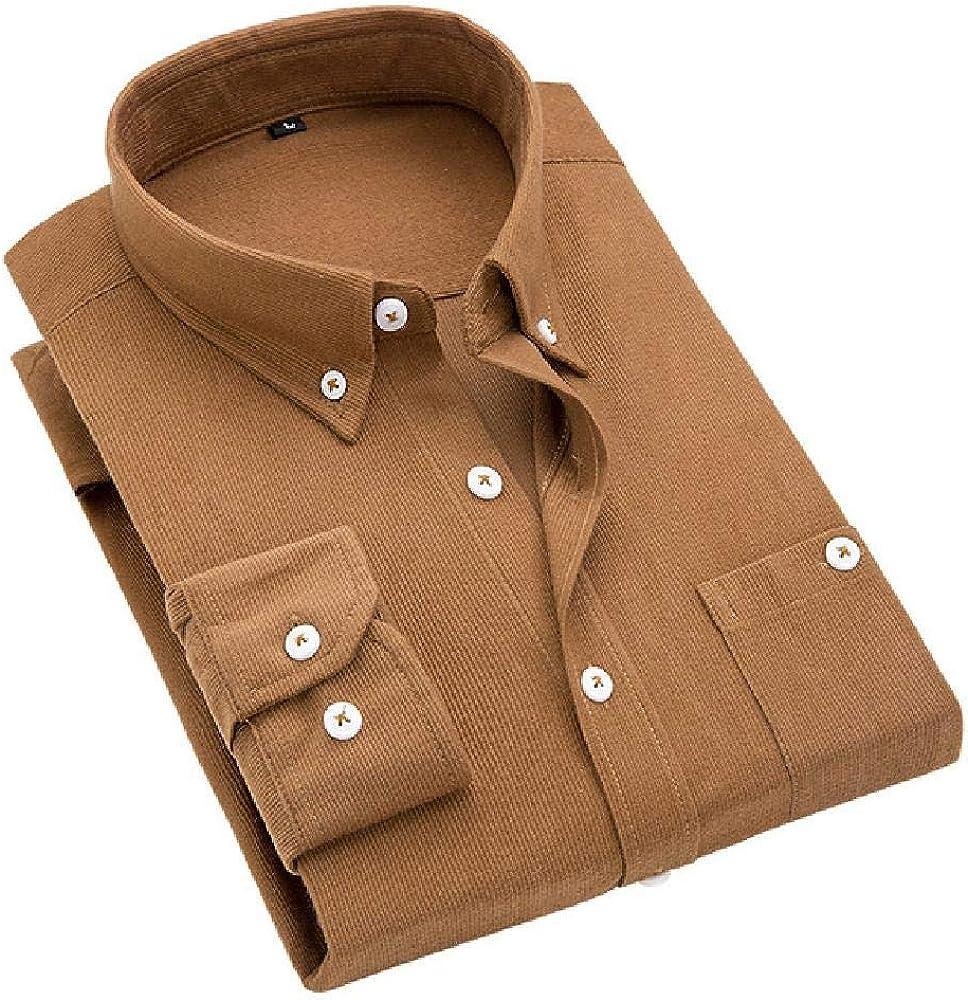 Camisas de otoño para Hombre, de Pana, cálidas, Tallas ...