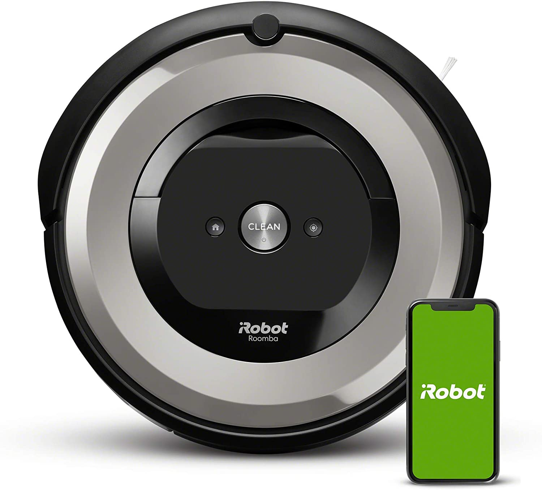 iRobot Roomba e5154, aspirateur robot, idéal pour les animaux, 2 brosses anti-emmêlement...