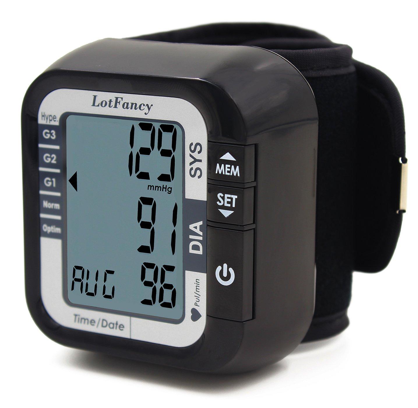 LotFancy TMB-1117 Wrist Type Blood Pressure..