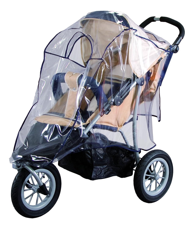 Sunnybaby 10089 Regenverdeck aus Folie für Jogger (Dreirad-Geländewagen), schwarz