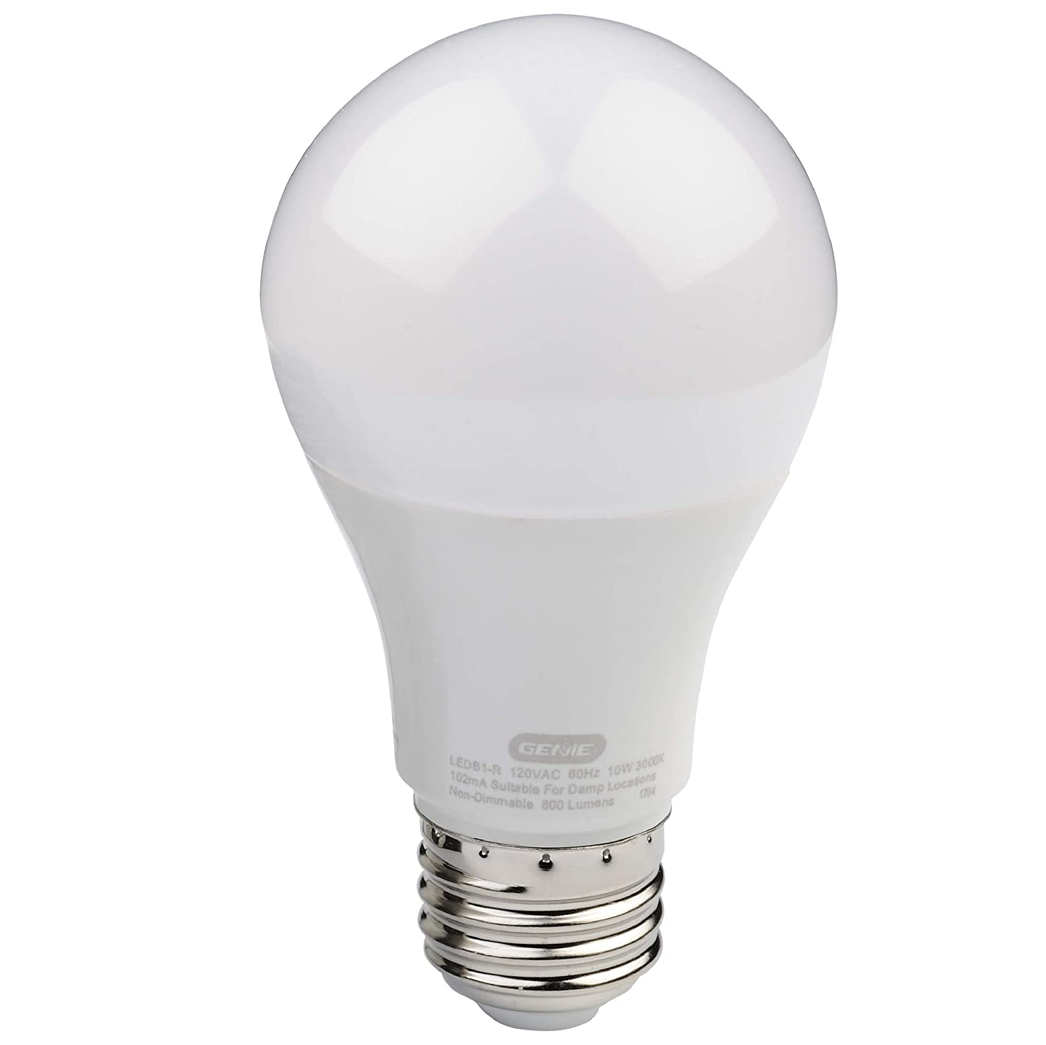 Garage Door Openers And Led Light Bulbs: Genie LED Garage Door Opener Light Bulb