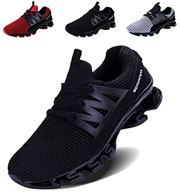 f10e0a2f9ec968 Men s Trainers Running Shoes Blade Casual Sports Athletic Fashion Adult  Tennis Trail Running Sneakers Teenager