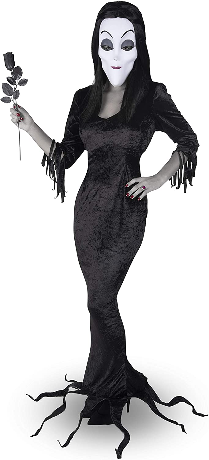 my other me Disfraz de Morticia Addams para Mujer (S): Amazon.es ...