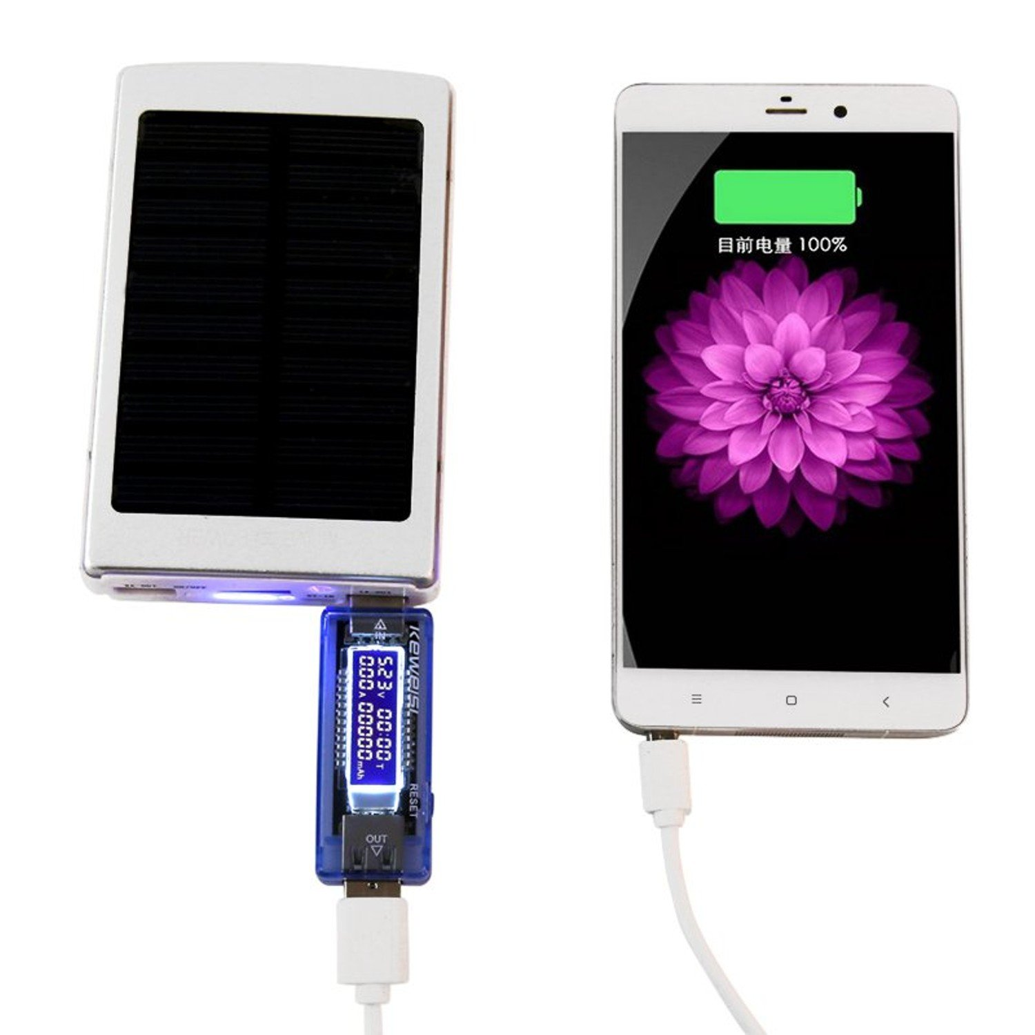 3 in 1 Battery Tester Voltage Current Detector Mobile Power Voltage Current Meter USB Charger Doctor by Gogi (Image #4)